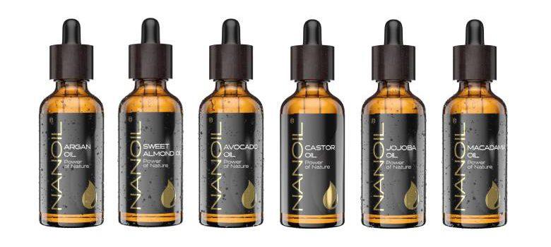 nanoil natural beauty oils